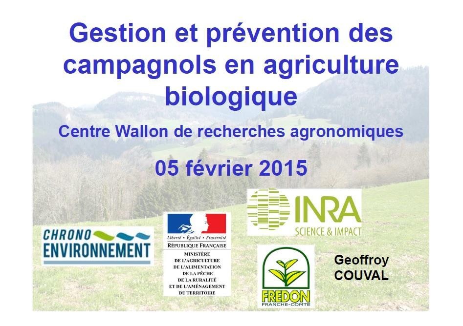 Gestion et prévention des campagnols en agriculture biologique