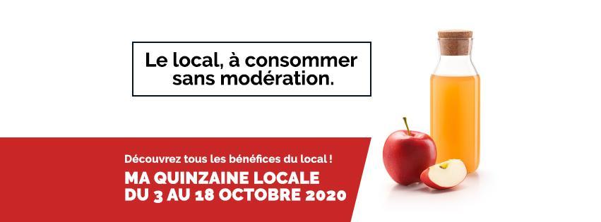 La Fête des produits locaux et circuits-courts en Wallonie et à Bruxelles du 3 au 18 octobre