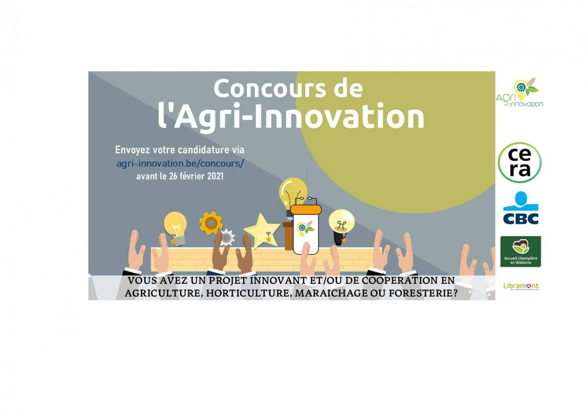 CONCOURS AGRI-INNOVATION