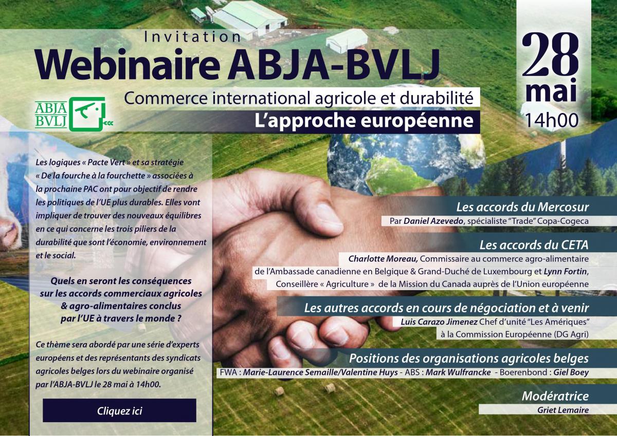 Commerce international agricole et durabilité : l\'approche européenne