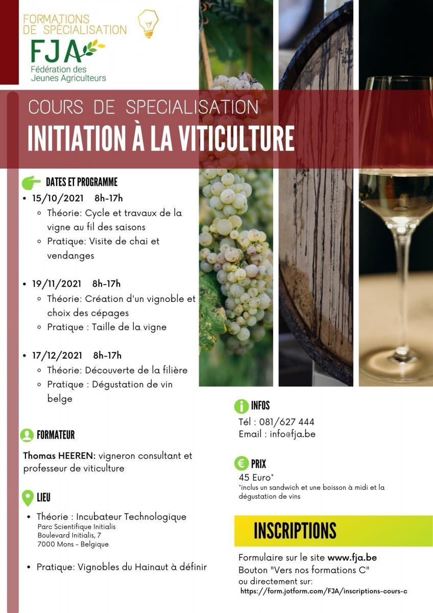 Envie de t\'initier à la viticulture?