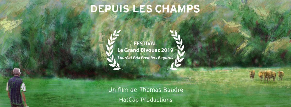 """Projection du film documentaire """"Depuis les champs"""" réalisé par Thomas BAUDRE"""