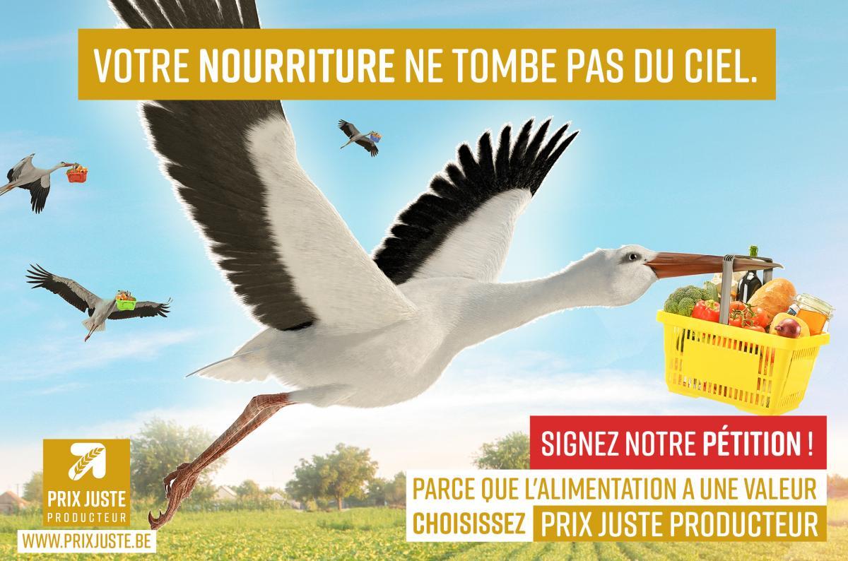 Une pétition pour soutenir une plus juste rémunération des agriculteurs