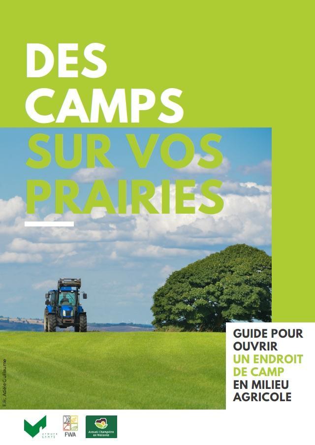 Des camps scouts sur vos prairies ?