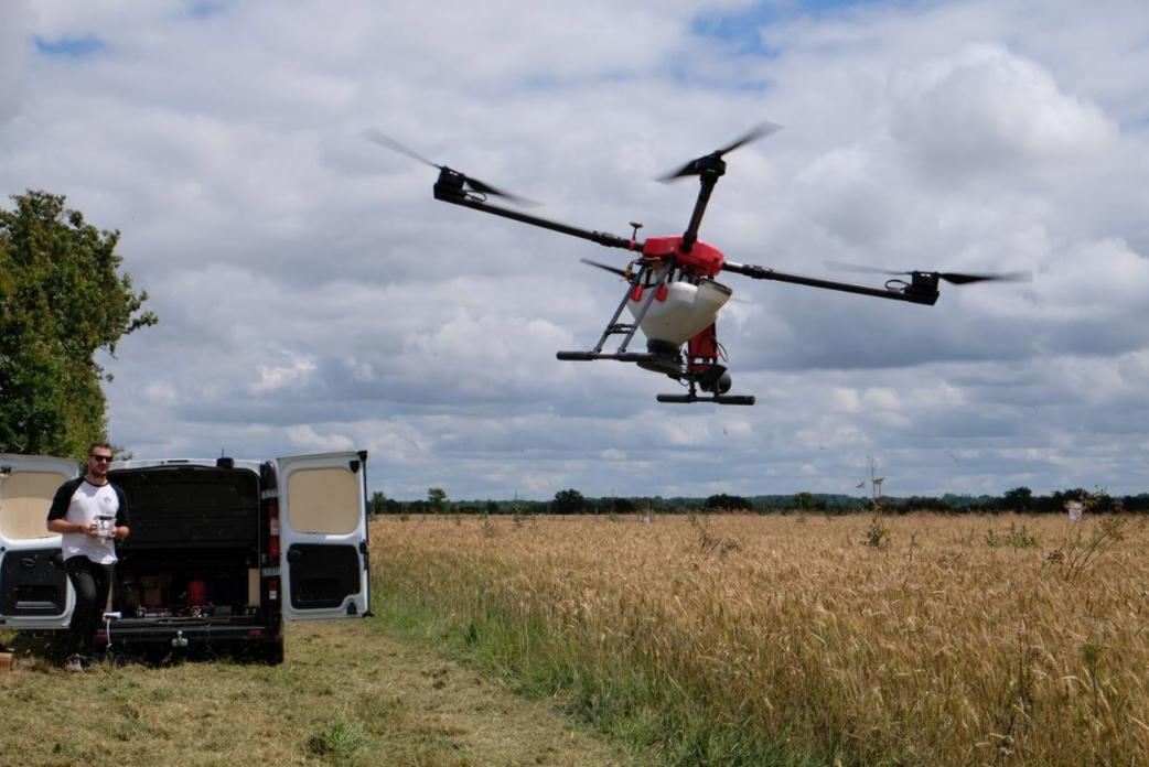 Agriculture. Un drone pour semer des graines sans toucher terre