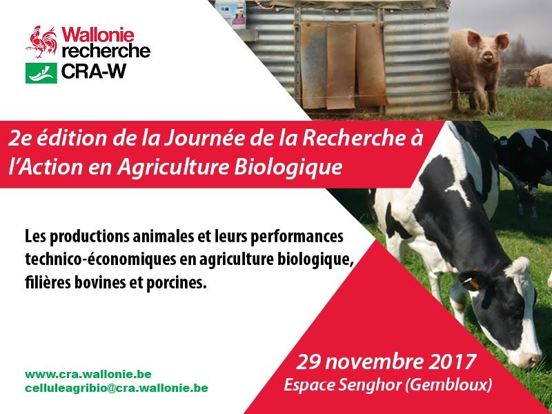 2e Journée de la Recherche à l'Action en Agriculture Biologique