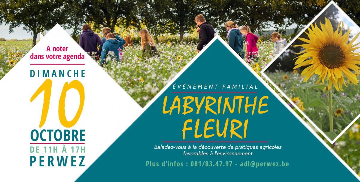 Labyrinthe Fleuri Perwez